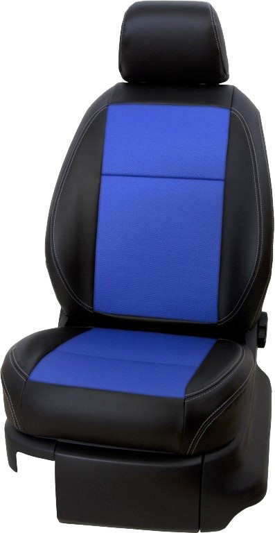 Autopoťahy na mieru LEATHER LOOK BLUE K1